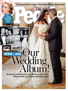 George Clooney wedding pic