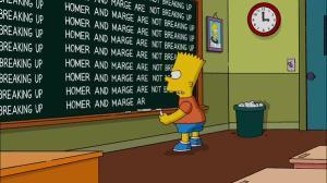 HomerAndMarge_notDivorcing
